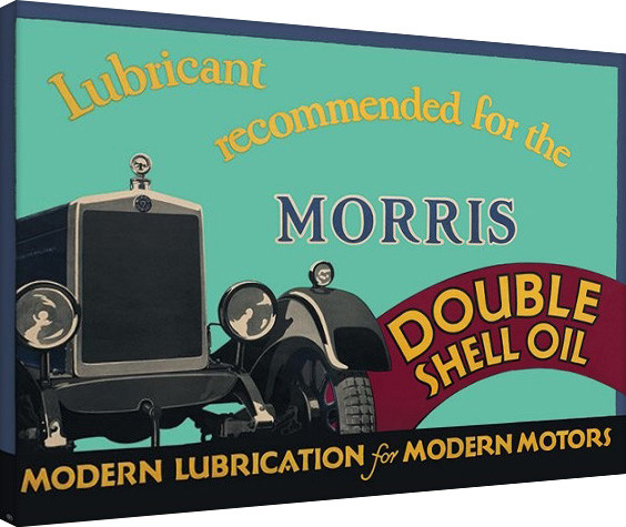 Shell  - Morris, 1928 Canvas-taulu
