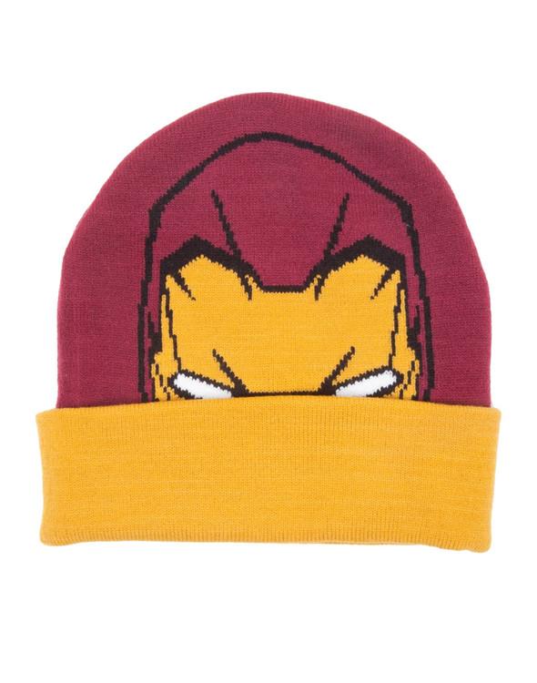 Cap Iron Man - Head