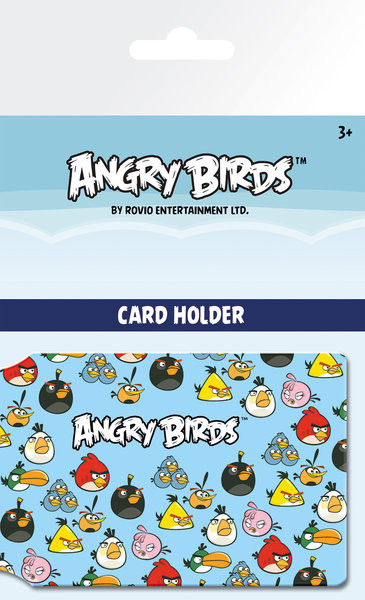 Angry Birds - Pattern Card Holder