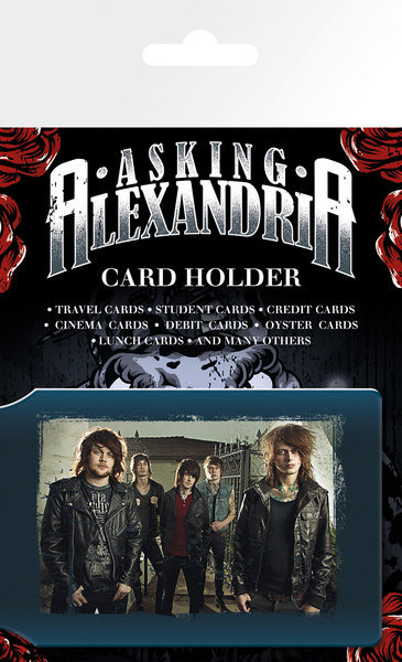 ASKING ALEXANDRA - band Card Holder