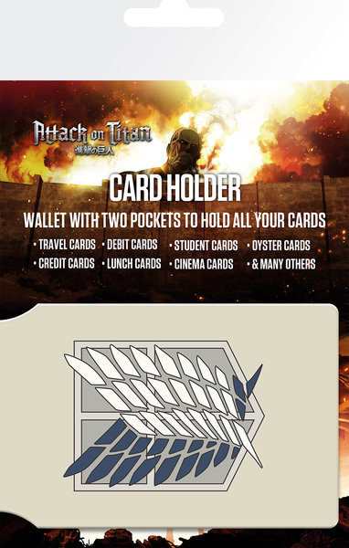 Attack on Titan (Shingeki no kyojin) - Badge Card Holder