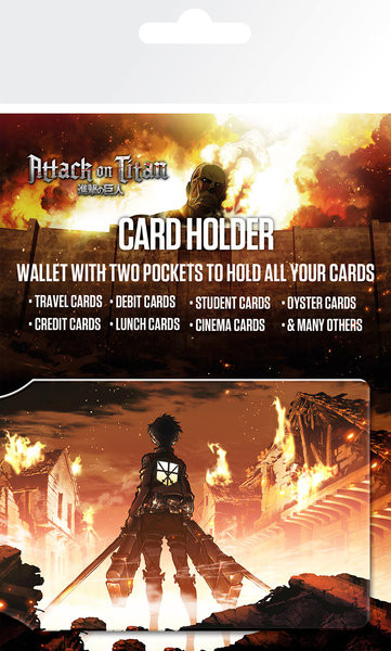 Attack on Titan (Shingeki no kyojin) - Key Art Card Holder