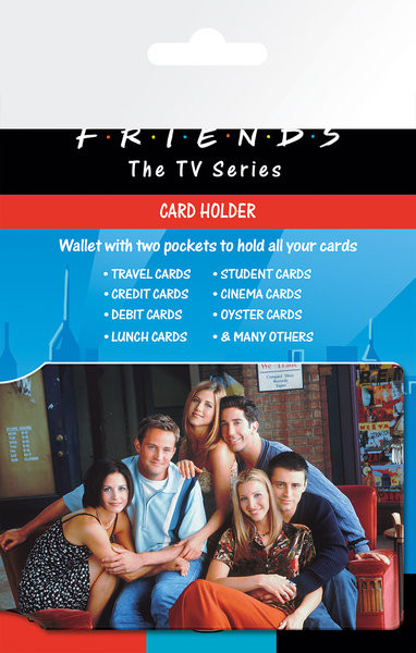 FRIENDS - cast Card Holder