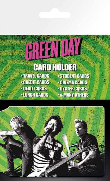 GREEN DAY - Tour Card Holder