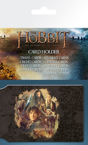 HOBBIT - collage  Card Holder