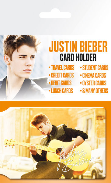 JUSTIN BIEBER - belieber  Card Holder