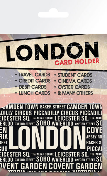 London - Areas Card Holder
