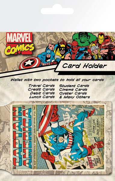 MARVEL - capitan america Card Holder