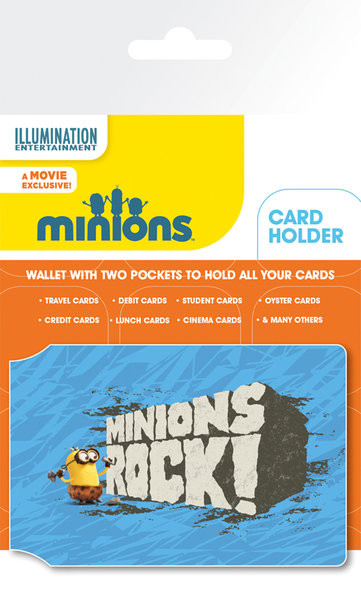 Minions - Rock Card Holder