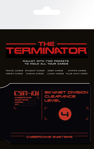 THE TERMINATOR - CSM-101 Card Holder
