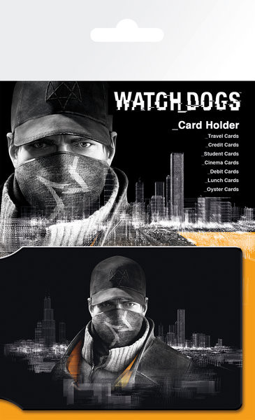 Watch Dogs - Aiden Card Holder