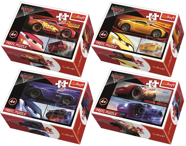 Puzzle Cars 3 4in1