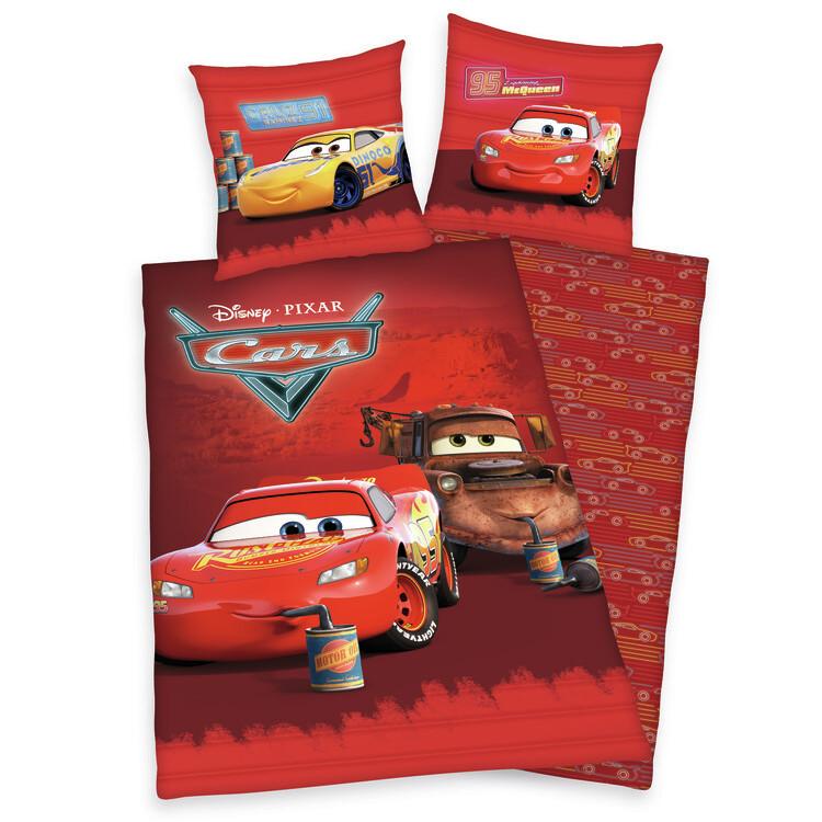 Bed sheets Cars - McQueen, Mater & Cruz Ramirez