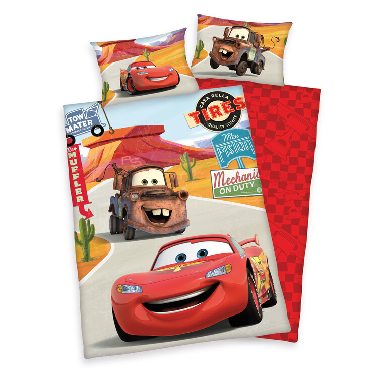 Bed sheets Cars - McQueen & Mater