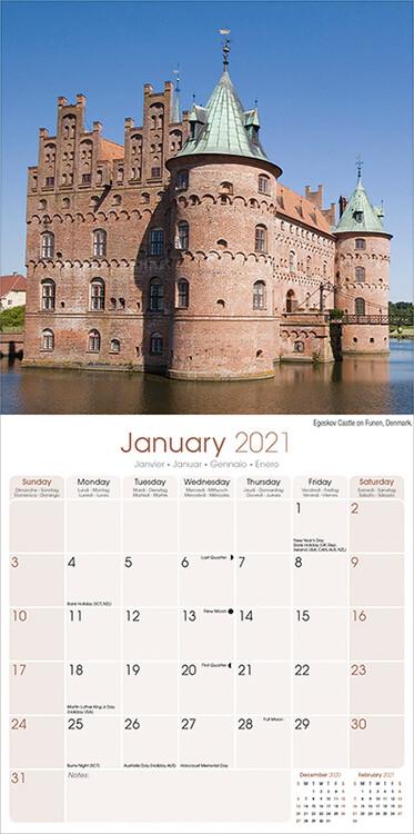 Calendar 2021 Castles