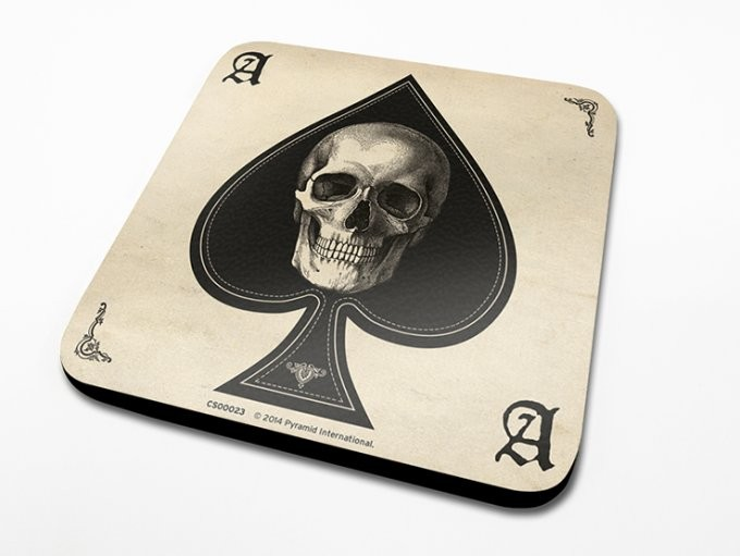 Ace of Spades Coaster