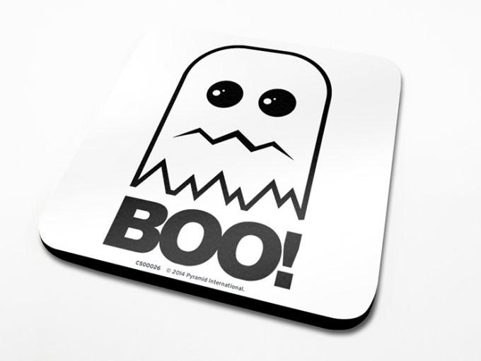 Boo!  Coaster