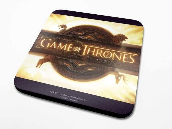 Game of Thrones - Opening Logo Coaster