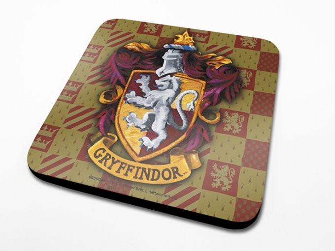 Harry Potter - Gryffindor Crest Coaster