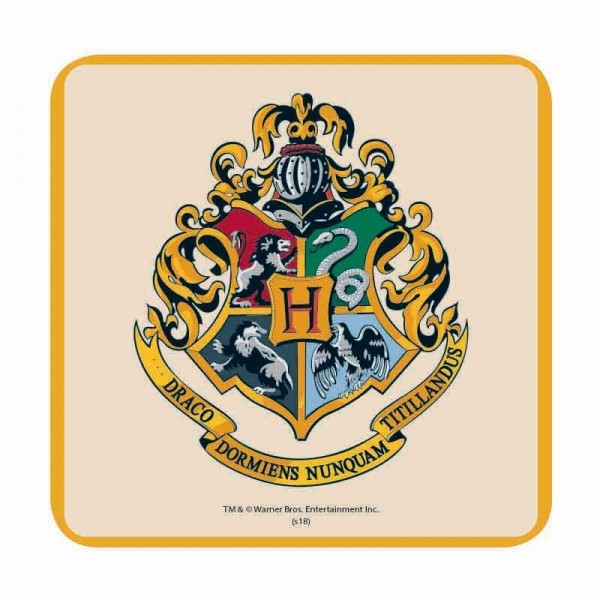 Coaster Harry Potter Hogwarts Crest Sold At Europosters