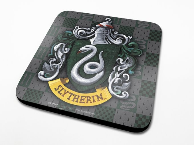 Harry Potter - Slytherin Crest Coaster