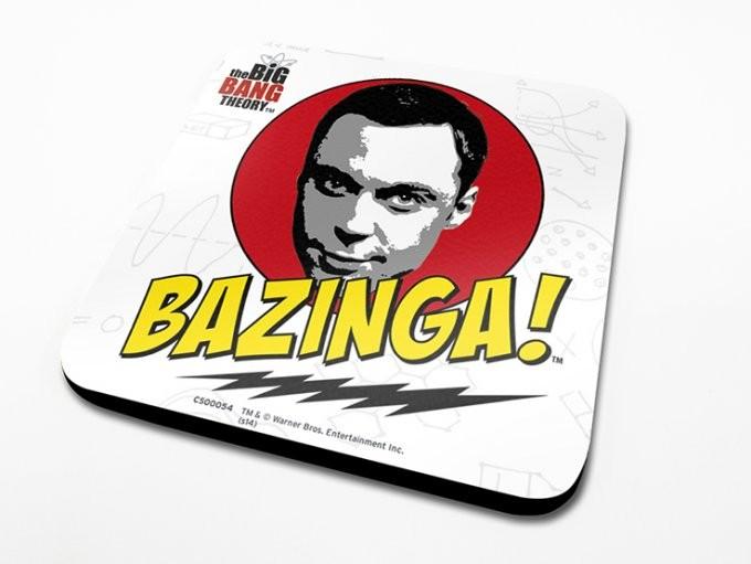 The Big Bang Theory - Bazinga Coaster