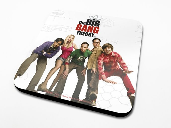 The Big Bang Theory - Cast Coaster