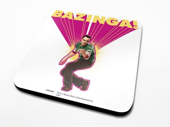 The Big Bang Theory - Pink Coaster
