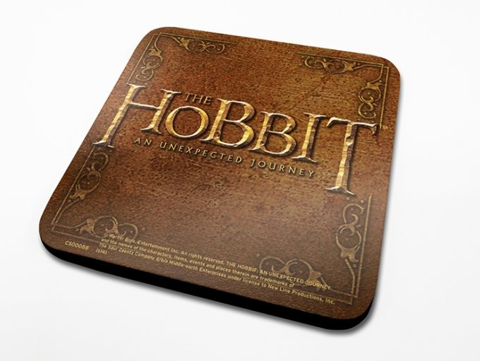 The Hobbit - Ornate Coaster