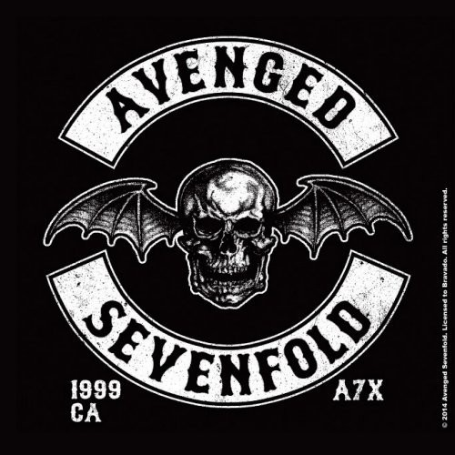 Coaster Avenged Sevenfold - Deathbat Crest