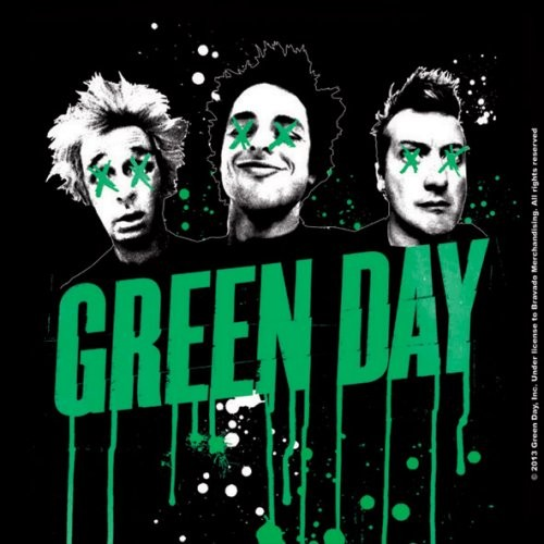 Coaster Green Day - Drips