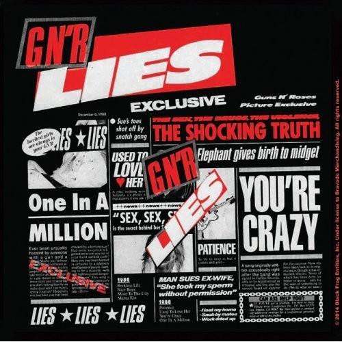 Coaster Guns N Roses – Lies
