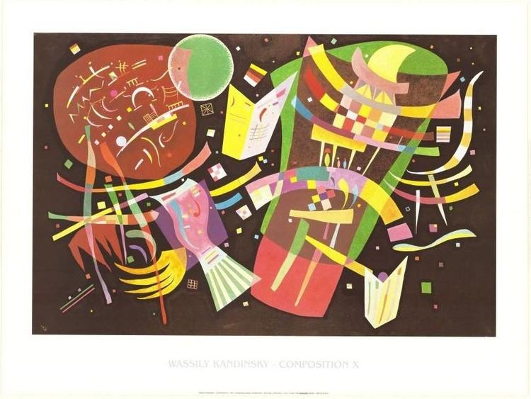 Composition X Reproduction d'art