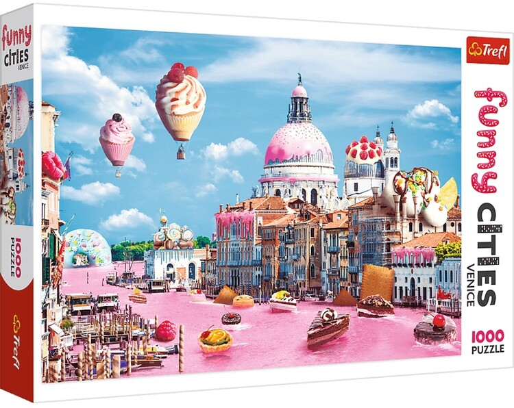 Puzzle Crazy City - Sweets in Venice