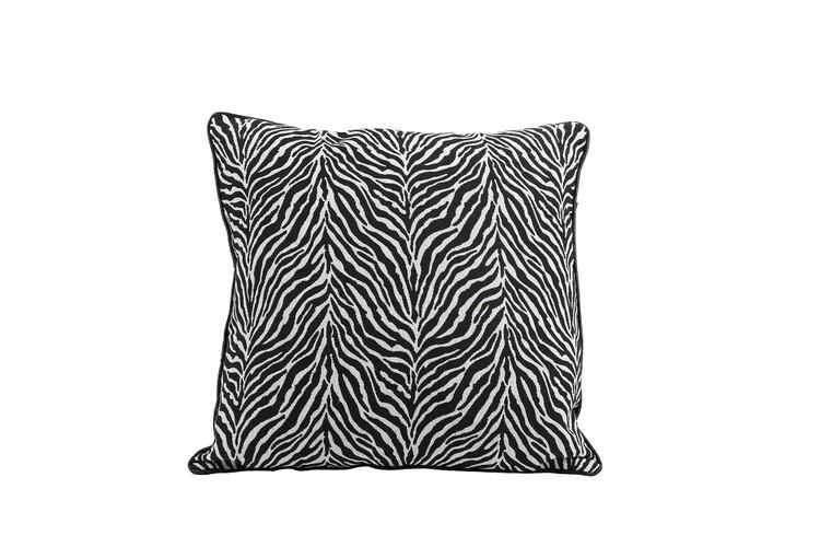 Bed sheets Cushion Zebra - Black-White