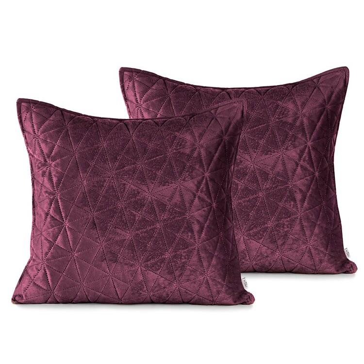 Pillow cases Amelia Home - Laila Berry + Mauve