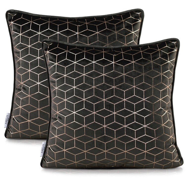 Pillow cases Amelia Home - Nancy Black
