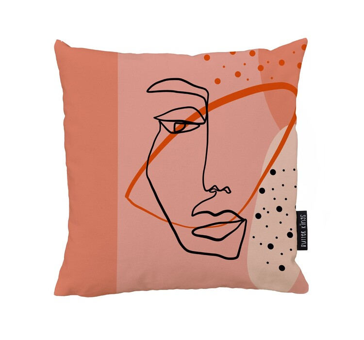 Cushion Mysterious Dame