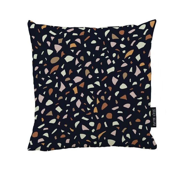 Cushion Terrazoo Love Black