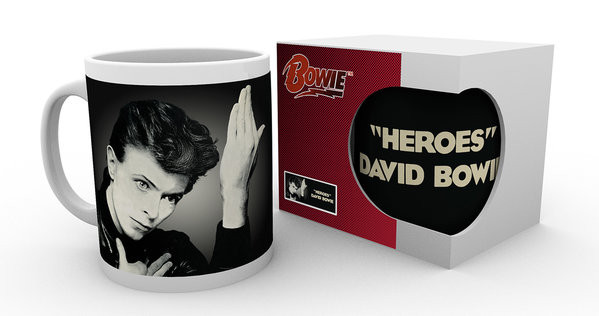 Cup David Bowie - Heroes