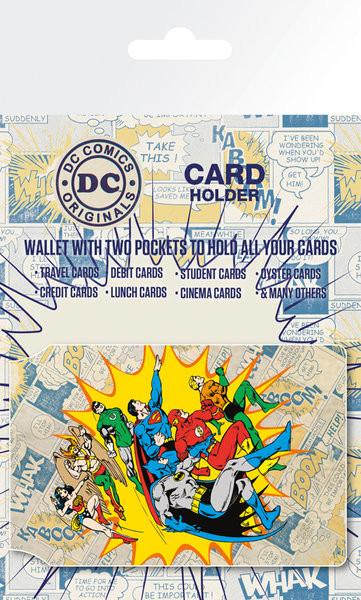 DC Comics - Heroes and Villians Porte-Cartes