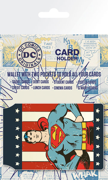 DC Comics - Retro Superman Porte-Cartes