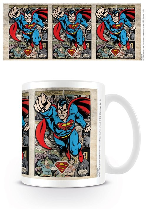 Mug DC Originals - Superman - Montage