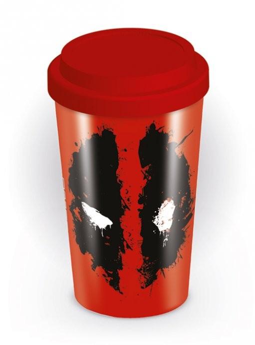 Travel Mug Deadpool - Splat