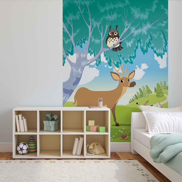 Papel de parede Animals in The Forest
