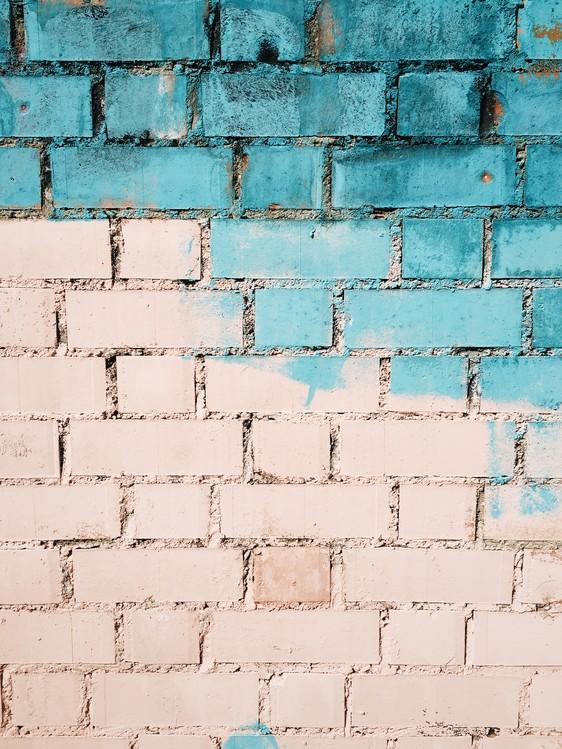 Murais de parede Beatiful graded in the city 2