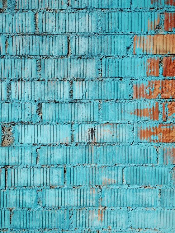 Murais de parede Beatiful graded in the city