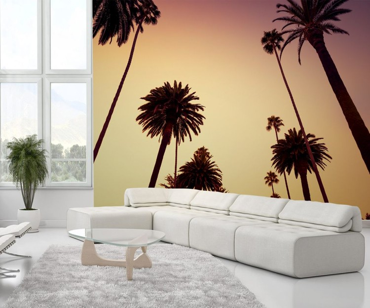 Papel de parede California - Palm Tree