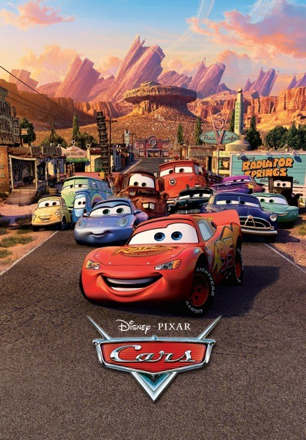 Decoração de parede Cars - Characters