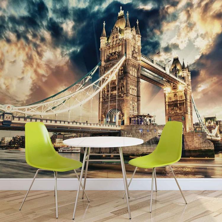 Papel de parede City London Tower Bridge